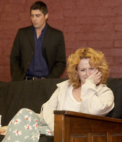 leann and paul in acting class
