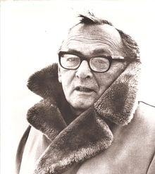 Sanford Meisner Portrait