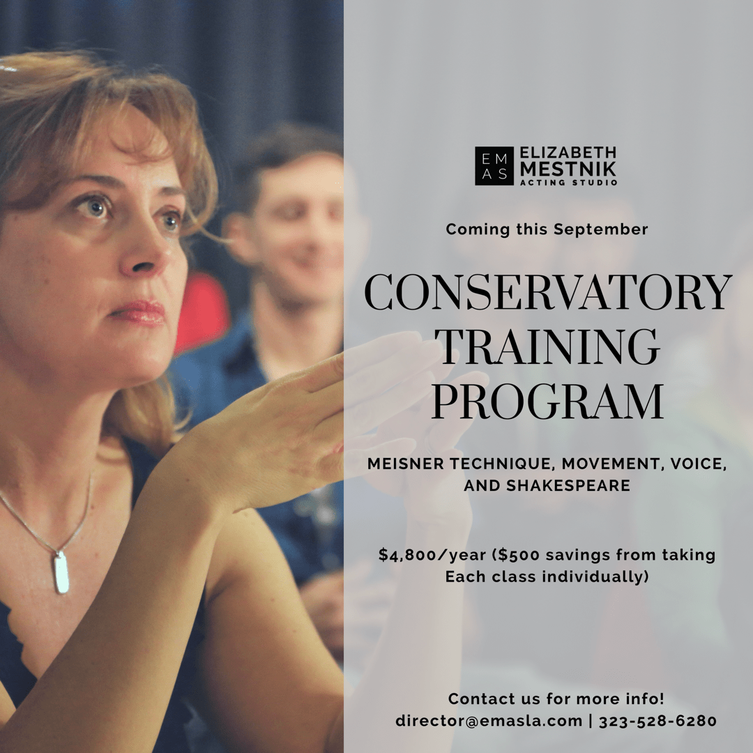 conservatory training program banner